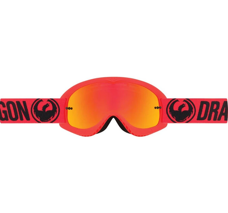 Dragon MX Youth Goggles Break Red | Alpine Powersports