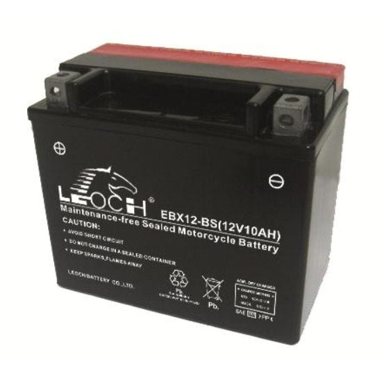 EBX12-BS ATV / Motorcycle AGM Battery by Alpine Powersports