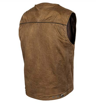 Joe Rocket Mission Denim Vest by Alpine Powersports