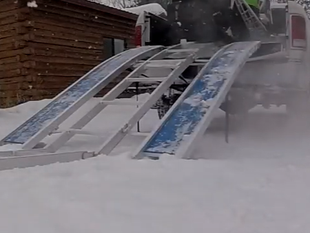 RevArc Snowmobile Loading Ramp