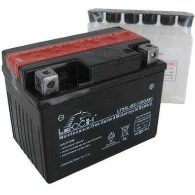 EBX4L-BS Youth ATV / Motorcycle AGM Battery by Alpine Powersports