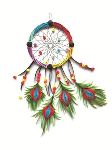 Paper Quilling Art Dream Catcher BQ90011