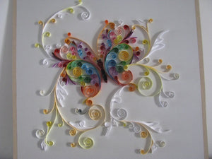 Paper Quilling Art Kits Color Butterfly BQ90060