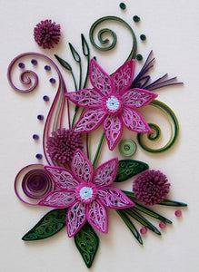 Paper Quilling Art Kits Flower Patterns BQ90094