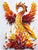 Paper Quilling Art Kits Color Phoenix Patterns BQ90154
