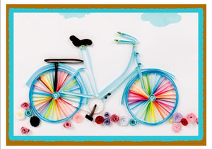 Paper Quilling Art Kit Color Bicycle BQ90199