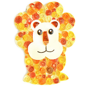 Paper Quilling Art Kit Cartoon Bear Patterns BQ90254