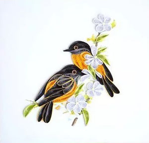 Paper Quilling Art Kit Color Birds Patterns BQ90287