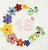 Paper Quilling Art Birthday Card Flower Patterns BQ90293