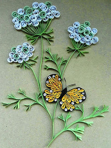 Paper Quilling Art Kits Flower Butterfly Patterns BQ90323
