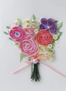 Paper Quilling Art Kits Color Flower BQ90447