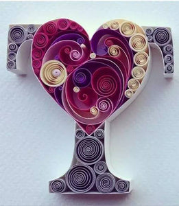 Paper Quilling Art Kits Trophy Cup Patterns BQ90575