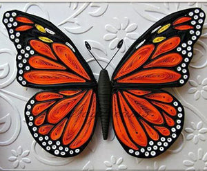 Paper Quilling Art Kit Butterfly Patterns BQ90596