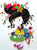 Cartoon Paper Quilling Kit Girl Patterns BQ90613