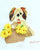 Paper Quilling Art Kit Cute Dog Patterns BQ90671