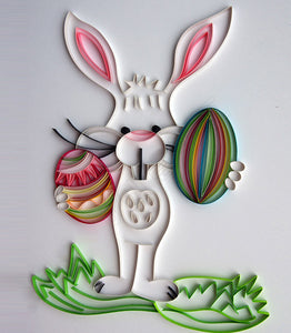 Paper Quilling Art Kits Rabbit Patterns BQ90730