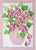 Simple Paper Quilling Art Kits Pink Flower BQ90767