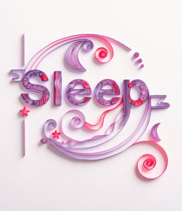 Simple Paper Quilling Kits Sleep Alphabet BQ90776