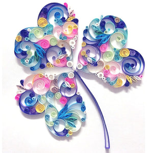 Paper Quilling Art Kit Heart Flower Patterns BQ90784