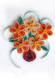 Paper Quilling Art Kits Orange Flower BQ90792
