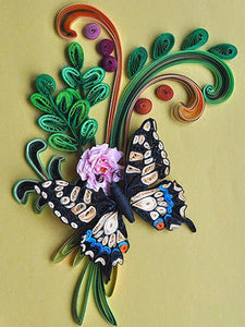 Paper Quilling Art Kit Color Butterfly BQ90794