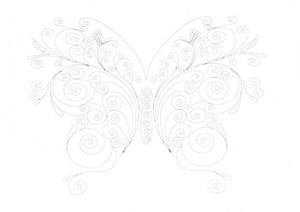 Paper Quilling Art Kit Color Butterfly BQ90666