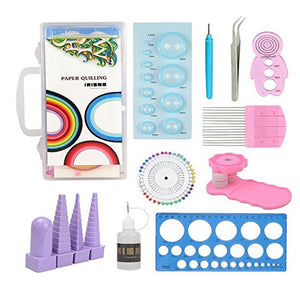 Paper Quilling Tools Kit Paper Strips DIY Tool Set T00001