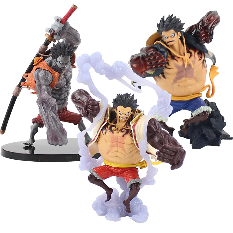 ONE PIECE Nightmare Monkey D Luffy PVC Figure SCultures Collectible Toy In Box