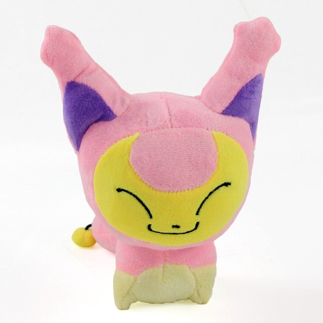 19cm Anime cute pink Skitty Plush baby Doll Stuffed Animals Toys Christmas gifts for children