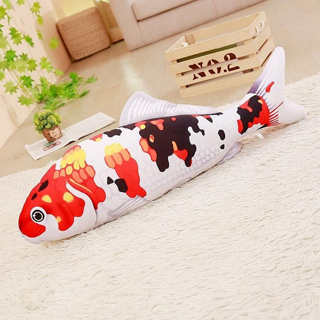 1pc 16/30cm cartoon simulation carp plush toy stuffed soft cute mini Koi fish dolls kawaii finger toys for kids birthday gift