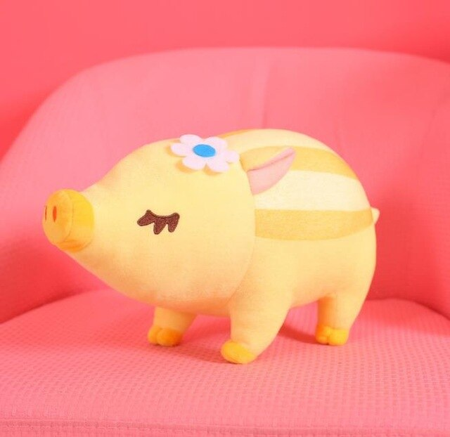 1pc 40/60cm kawaii Striped Wild Boar Plush Toy Stuffed Soft Cute Lying Animal Pig Dolls Home Decor Children Baby Birthday Gifts