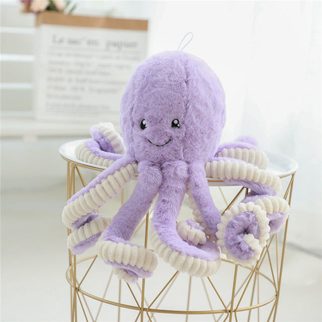 40-80cm Giant Lovely Simulation octopus Pendant Plush Stuffed Toy Soft Animal Home Accessories Cute Animal Doll Children Gifts