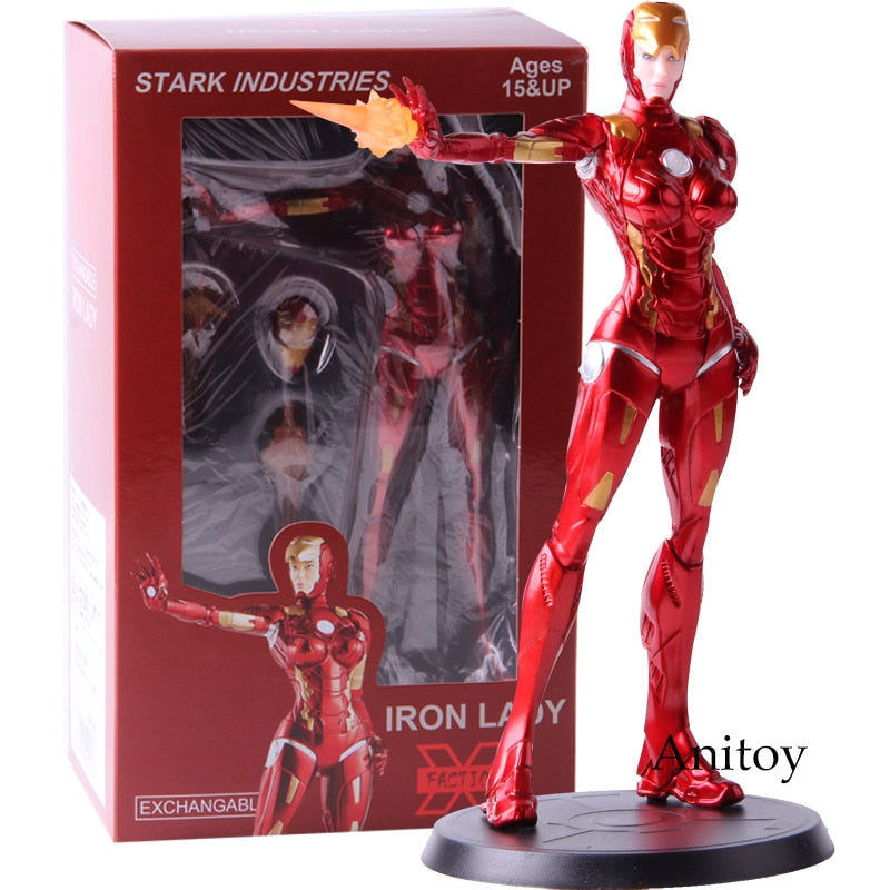 Action Figure Stark Industries Iron Lady Pepper Potts Collectible Model Toy