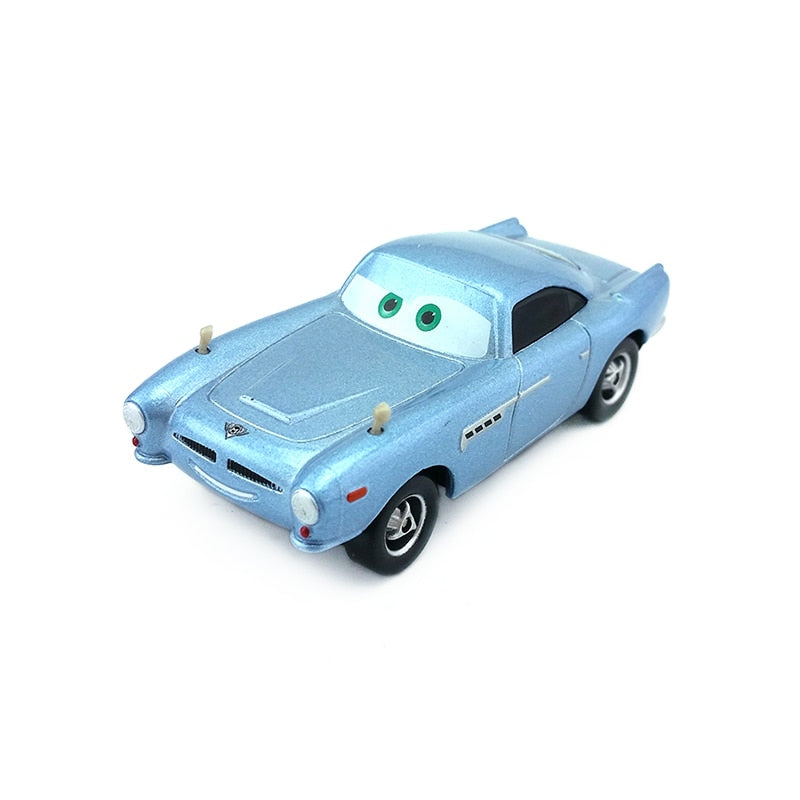 Disney Pixar Cars Finn McMissile Metal Diecast Toy Car 1:55 Loose Brand New In Stock & Free Shipping