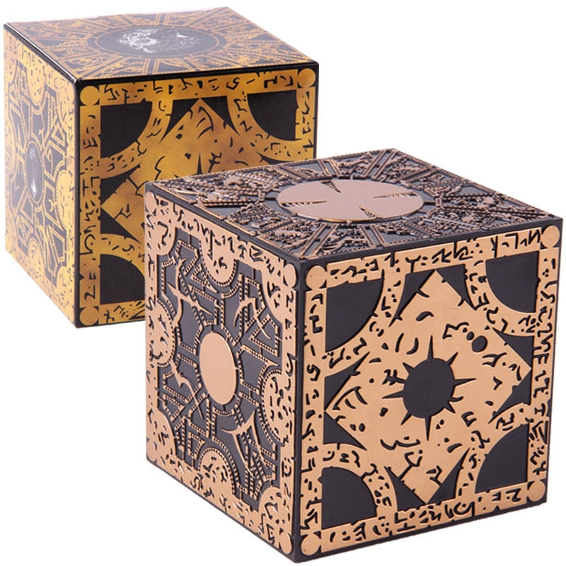 Horror Movie Hellraiser Puzzle Box Lament Configuration PVC Action Figure Collectible Model Toy