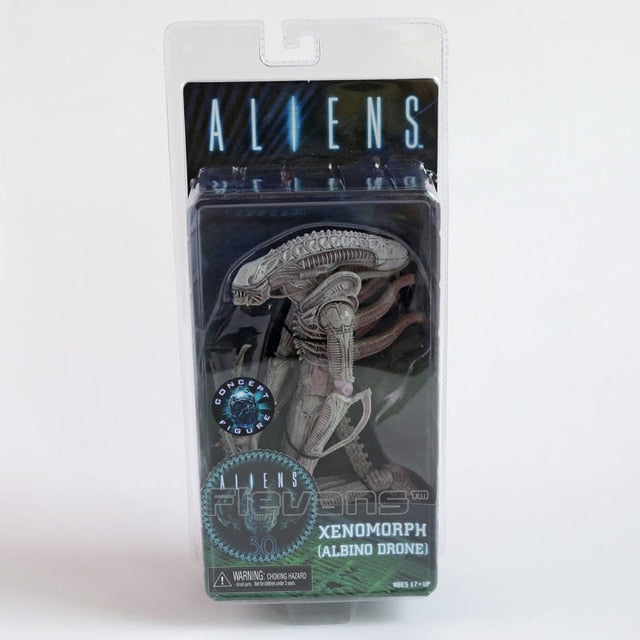 "NECA ALIENS Series 9 Xenomorph Albino Drone Private Ricco Frost Jenette Vasquez PVC Action Figure Collectible Model Toy 7"" 18cm"