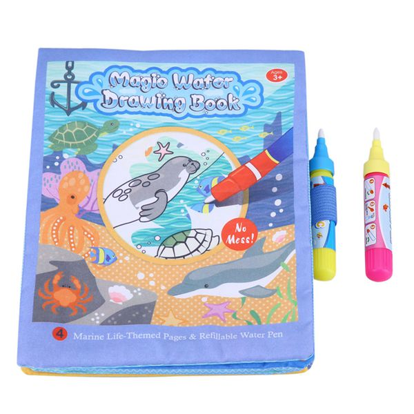 New Water Coloring Drawing Books For Kids With 2 Magic Water