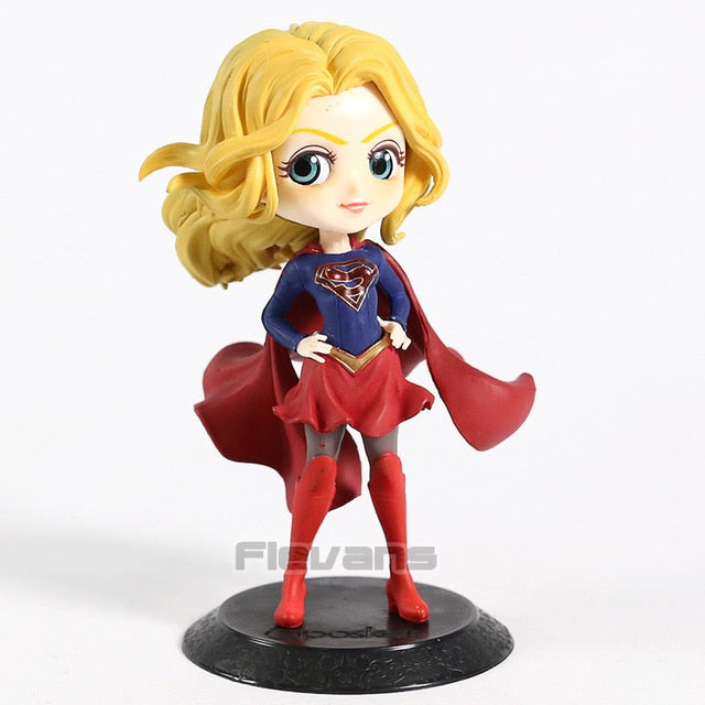 Q Posket DC Comics Supergirl PVC Figure Collectible Model Toy