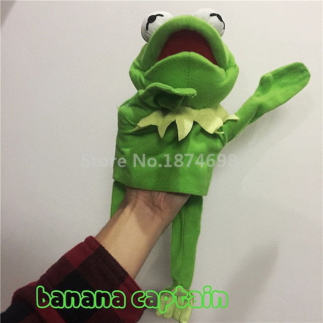 The Muppets Puppet Kermit Frog Fozzie Bear Swedish Chef Miss Piggy Gonzo Plush Stuffed 28cm Hand Puppets Baby Kids Children Toys