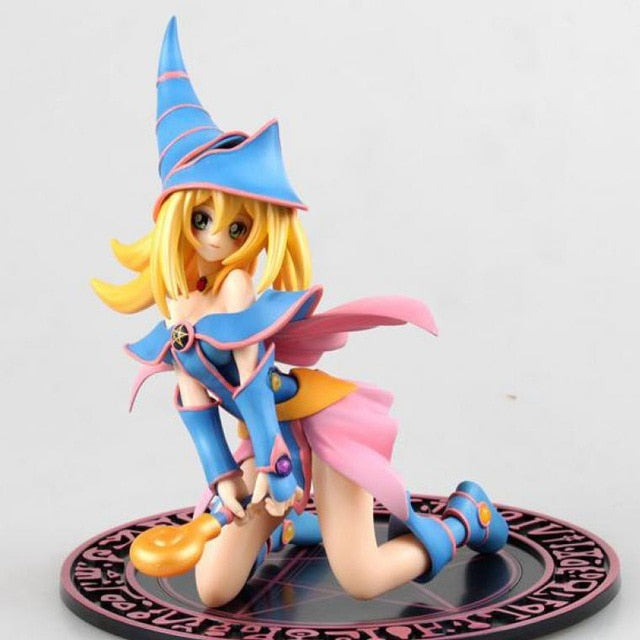 Yu-gi-oh!-anb Monster Dark Magician Girl Japanese Anime Figures 1pc Action Figure Action & Toy Figures Childhood Edition Figures