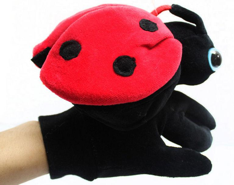 Interestingly glove-dimensional ladybug animal hand puppet doll Hand puppet