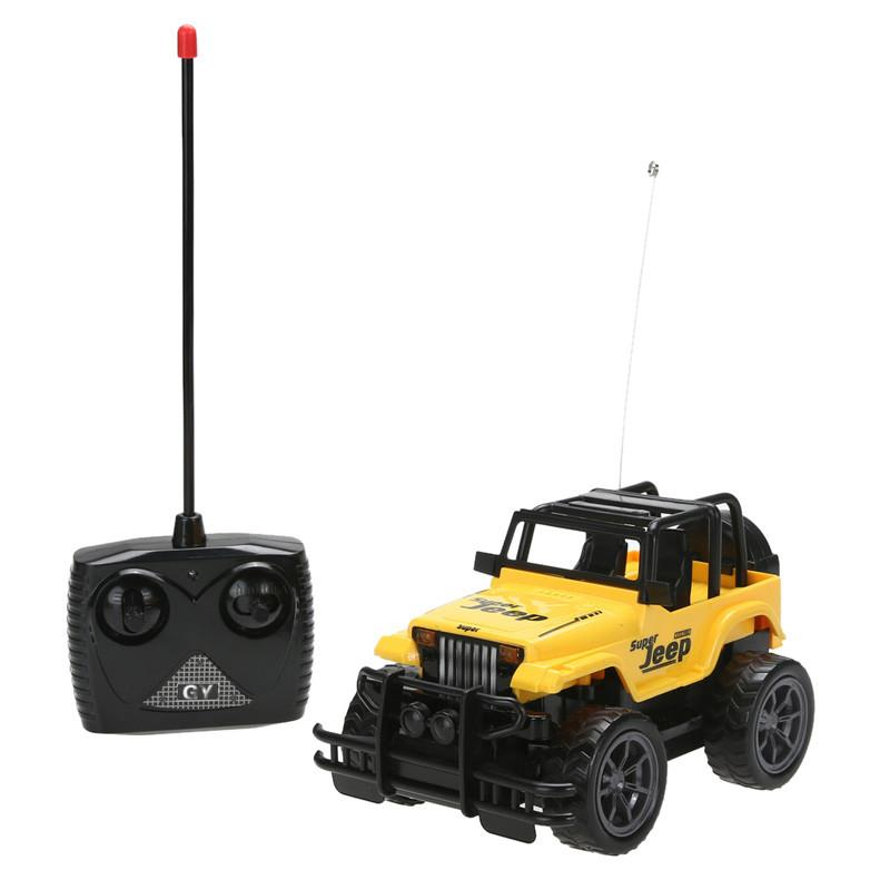 Kids Baby Toy Children's Toys 1:24 Drift Speed Radio Remote control RC Jeep Off-road vehicle+Headlight rc car Baby Toys Gift