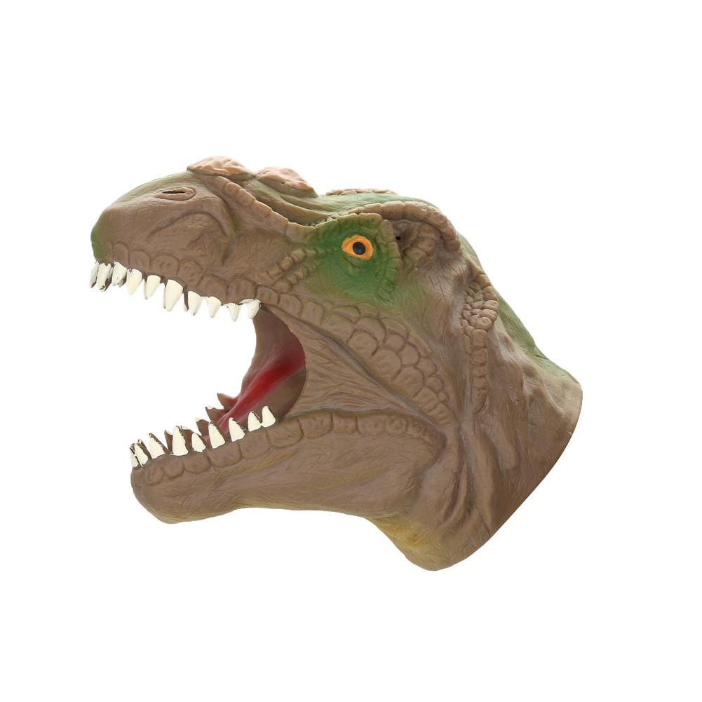 Soft Vinyl PVC Animal Head Hand Puppet Figure Dinosaur Hand Puppet Gloves Children Toy Model Gift