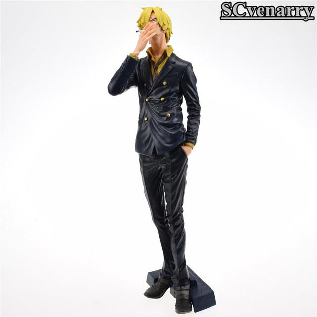 One Piece KING Of ARTIST THE SANJI PVC Action Figure collectible Model Baby Toys 26cm