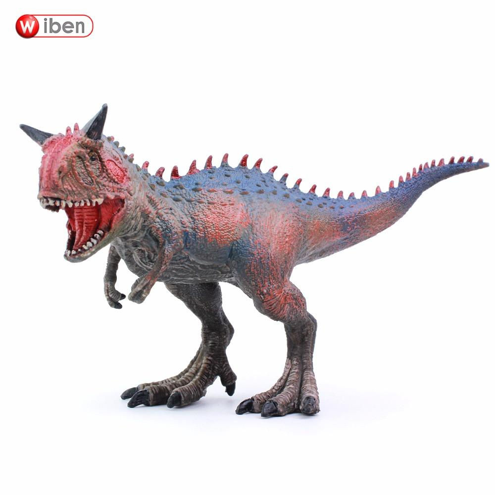 Wiben Jurassic Carnotaurus Dinosaur Toys  Action Figure Animal Model Collection Learning & Educational Children Toy Gifts