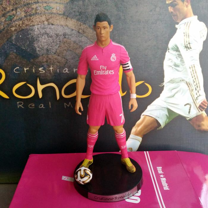"Popular Soccer 7# Cristiano ronaldo(RM) 2.5"" Action figure Doll Toy Figure 18cm PVC puppet"