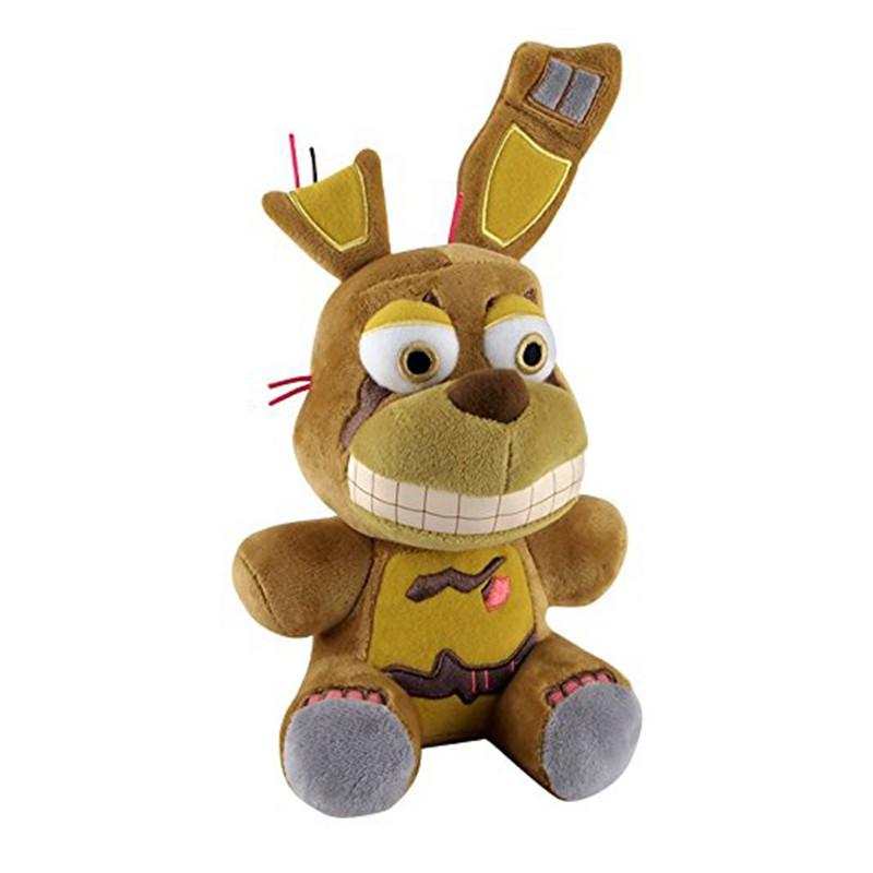 Funko Springtrap Plush Five Nights At Freddy's Bonnie Rabbit  Doll Toy,