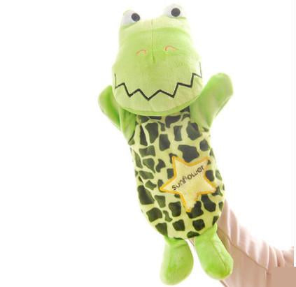 Kids Cartoon Plush Doll Finger Hand Puppet Toys Cute Classic Children Figure Toys Kids Gifts Plush Animal Toys doll