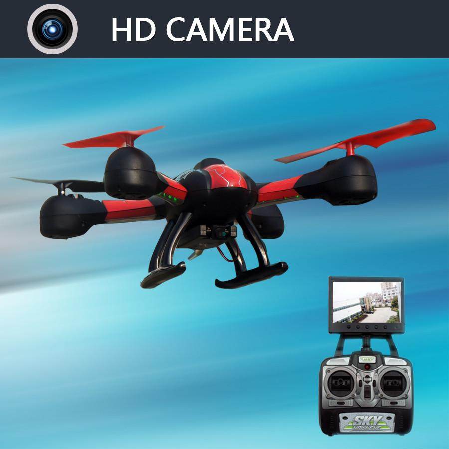 SKY 1315S Quadrocopter with HD Camera 5.8G 4CH 0.3MP HD Camera Drone 3D Hand Throwing Roll Helicopter RC Quadrocopter with FPV