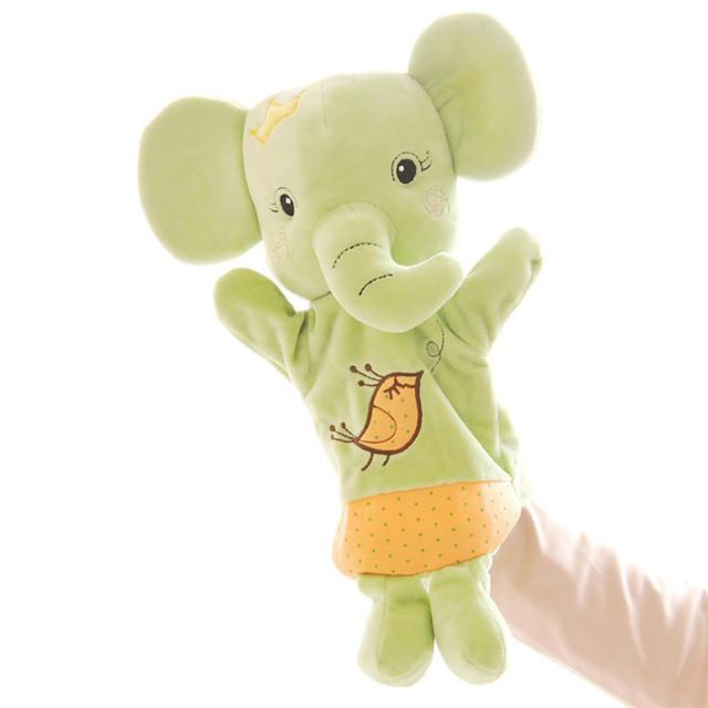 RYRY 30CM Stuffed Plush Dolls Kids Toys Plush Dolls Aniamls Hand Puppet for Kids 1-6 Years Animal Figures Toys For Boys Girls